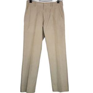 Banana Republic Modern Fit tan trousers sz 31/30